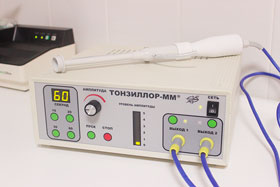 аппарат для промывания миндалин Тонзиллор